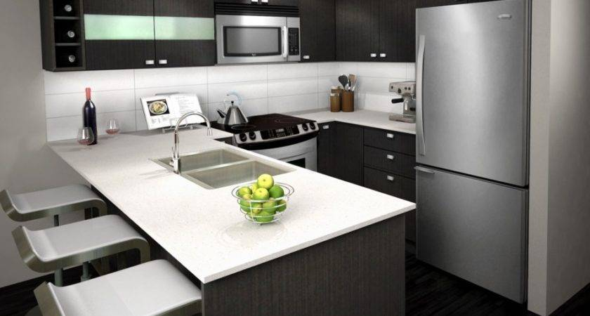 Kitchen Modern Grey Cabinets Inspire