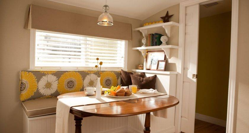 Kitchen Nook Bench Storage Awesome Homes Types