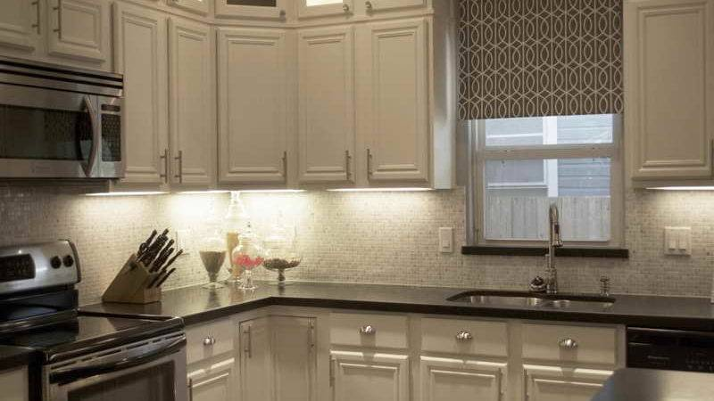 Kitchen Outdated Makeovers Idea Grey
