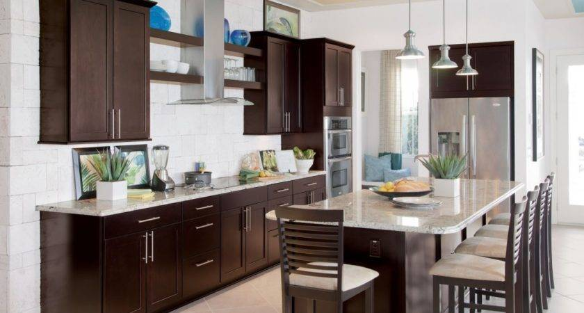 Kitchen Paint Colors Brown Cabinets Design