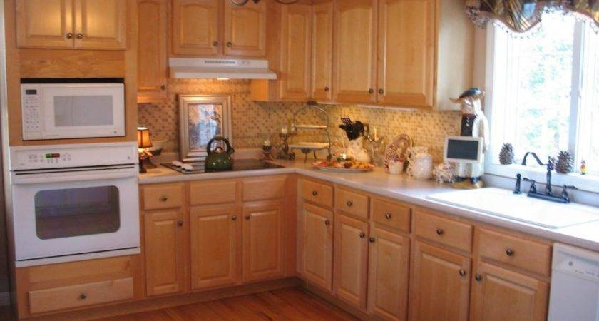 Kitchen Paint Colors Honey Oak Cabinets