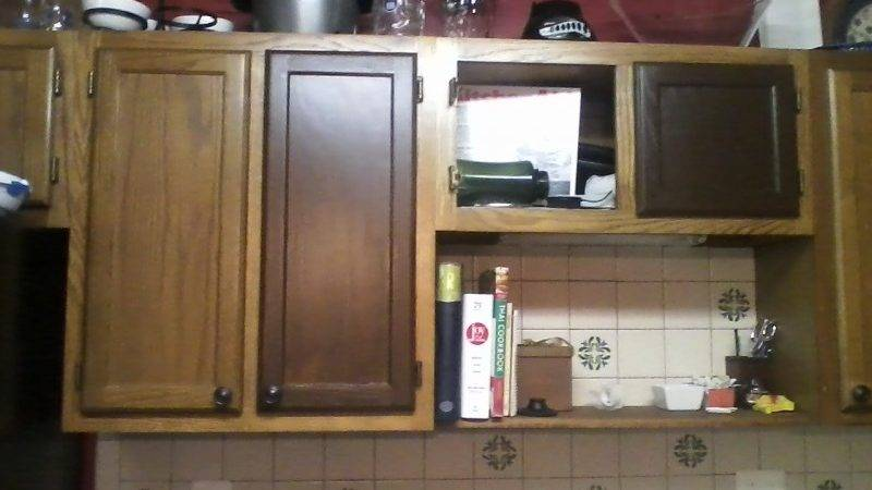 Kitchen Stain Cabinets Without Sanding