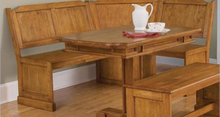 Kitchen Table Bench Plans Dining Set Round Corner