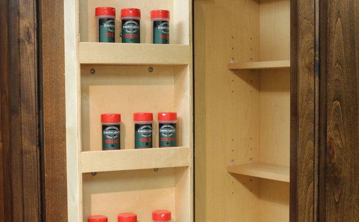 Kitchen Winsome Pantry Door Spice Rack Design Ideas