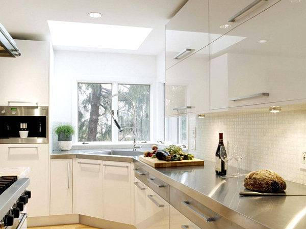 Kitchens Stainless Steel Countertops
