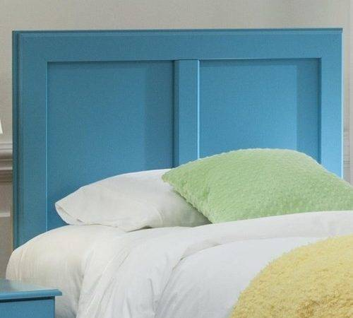 Kith Furniture Turquoise Queen Panel Headboard