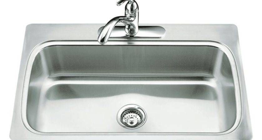 Kohler Verse Selfrimming Single Basin Kitchen