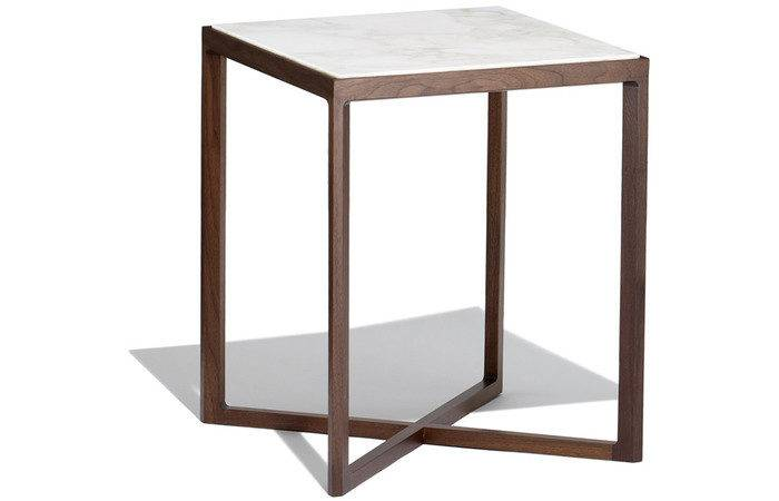 Krusin Square Side Table Hivemodern