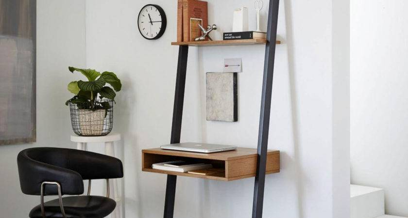 Ladder Shelf Storage Desk West Elm