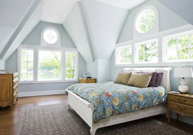 Lake House Project Traditional Bedroom New York
