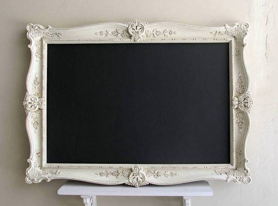 Large Chalkboard French Country Decor Shabby Chic