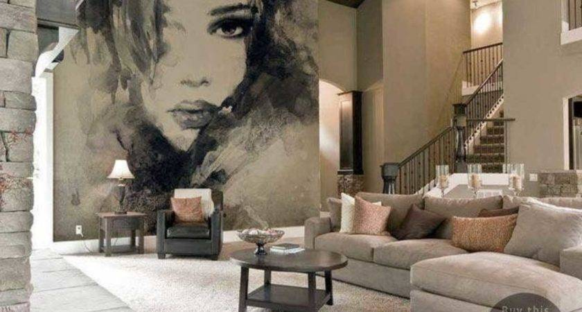 Large Living Room Wall Decor Mural Home Interior Exterior