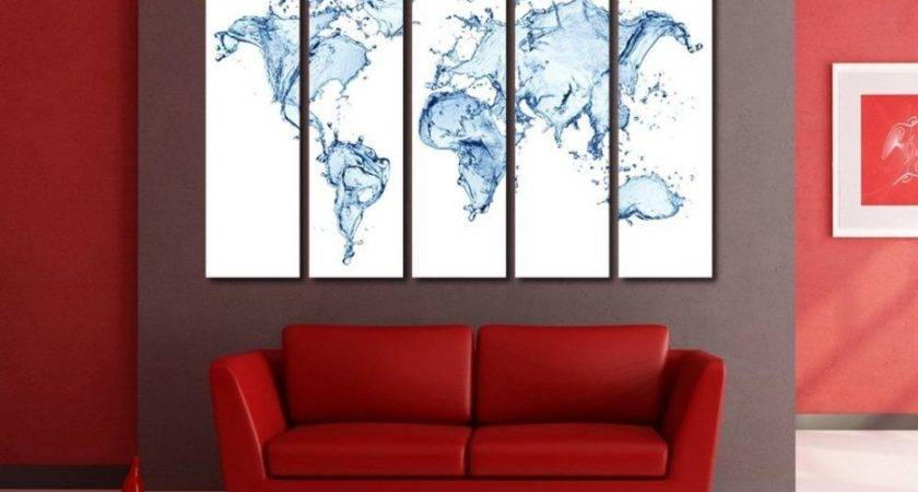 Large Living Roomlarge Wall Art Ideas Piece