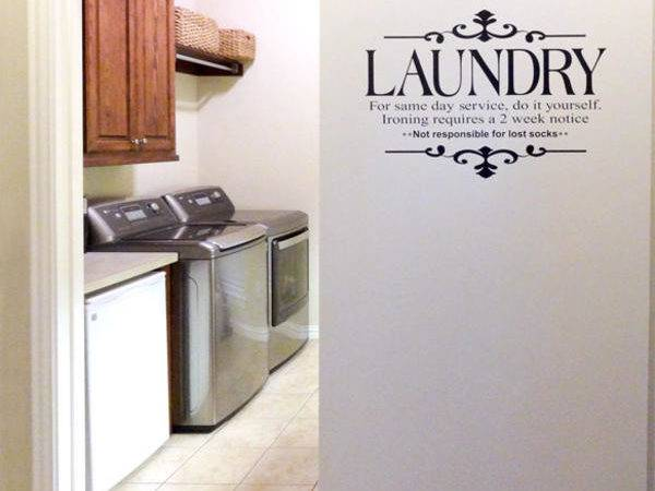 Laundry Room Sliding Doors Design Ideas