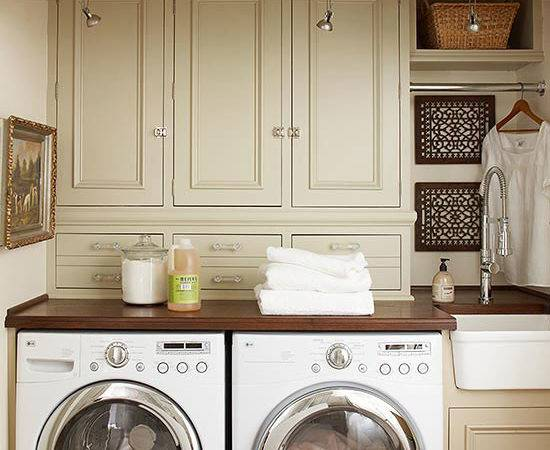 Laundry Room Storage Solutions Home Touches