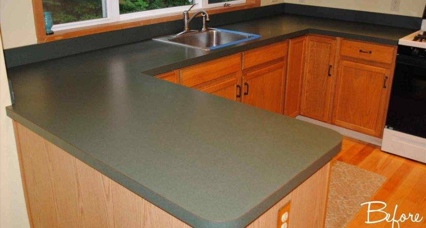 Laura Williams Transformations Rust Oleum Countertop