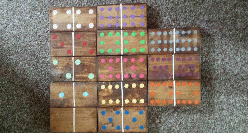 Lawn Dominoes Mexican Train Set Outdoor Games
