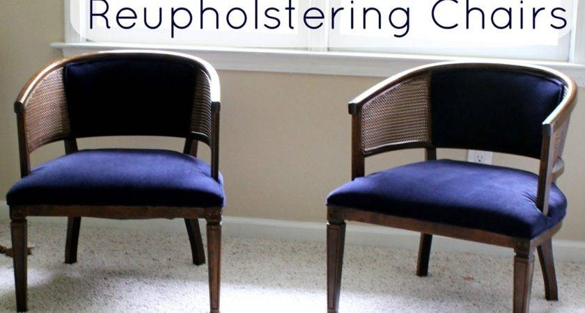 Lazy Girl Guide Reupholstering Chairs Tutorial