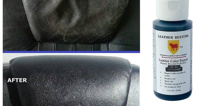 Leather Color Repair Recolor Restore Couch Furniture