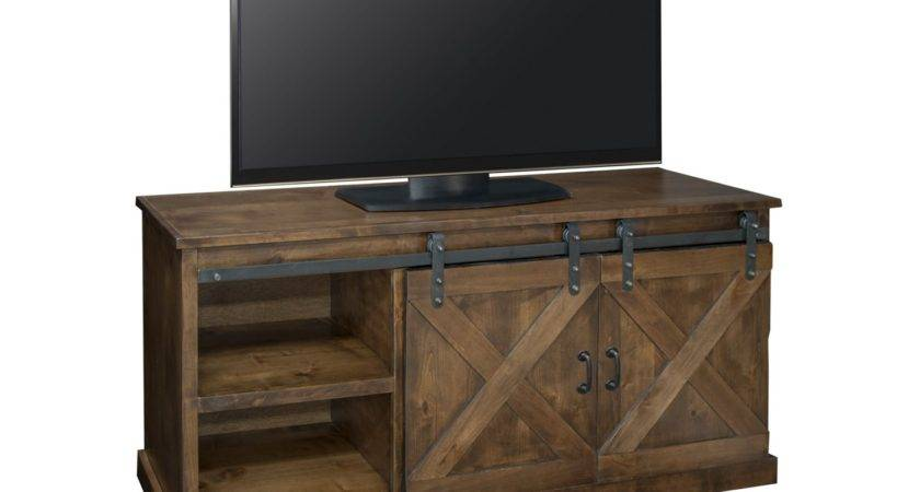Legends Furniture Farmhouse Console Aged Whiskey