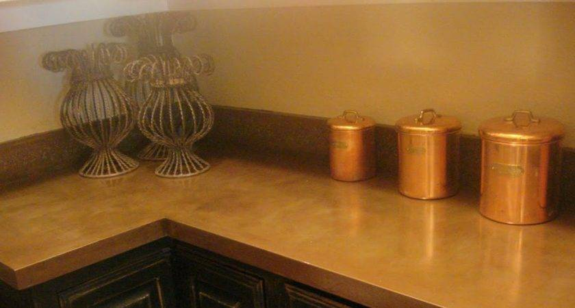 Let Shine Painted Formica Counter Tops Part