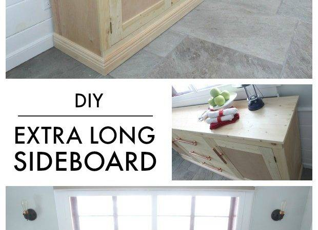 Letter Diy Extra Long Sideboard