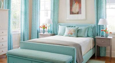 Light Aqua Bedroom Ideas