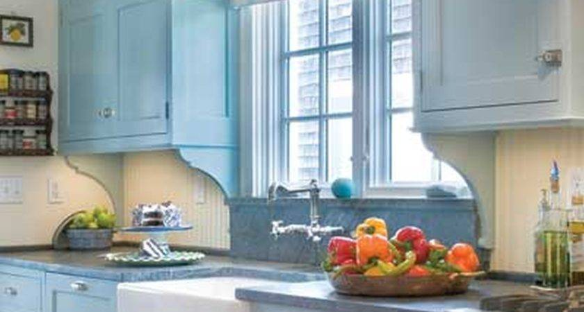 Light Blue Kitchen Cool Tjihome