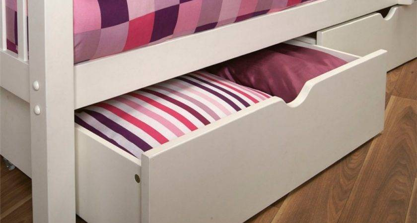 Limelight Pavo Pair Under Bed Drawers White