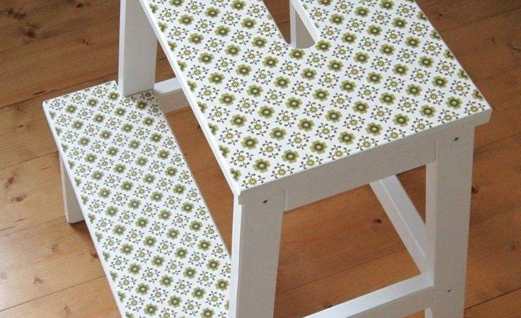 Linen Cloud Ikea Bekvam Stool Hack Kruk