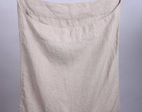 Linen Laundry Bag Hanging Wall