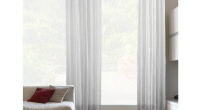 Liteout Trevi White Sheer Curtains Length Canada