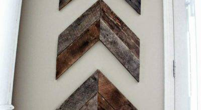 Little Brick House Reclaimed Wood Project Diy Wooden Arrows