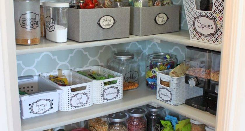 Little Pantry Makeover