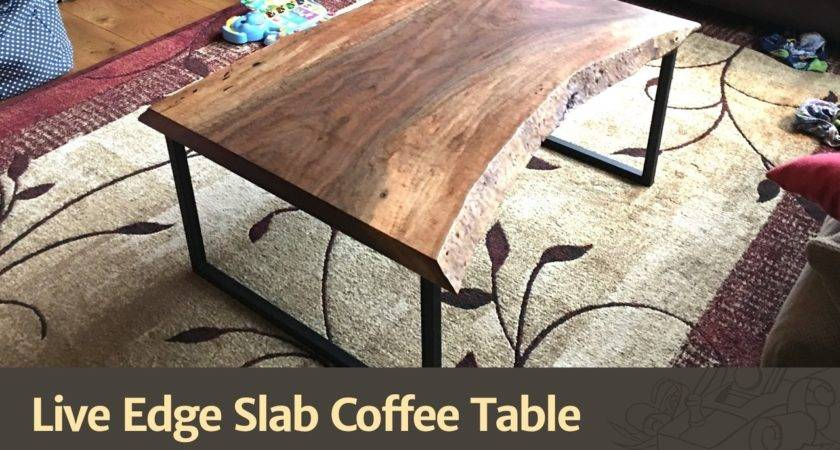 Live Edge Slab Coffee Table Crafts Diy Projects
