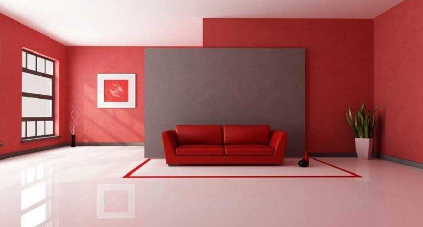 Living Room Color Schemes Red Wall Best Trends
