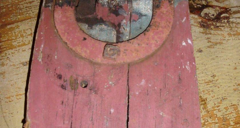 Log Cabin Antiques Gifts Barn Door Pulley