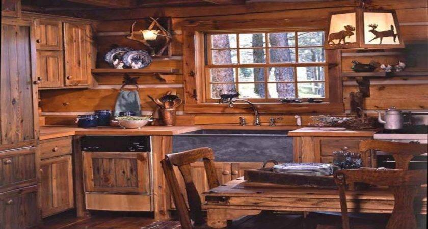 Log Cabin Kitchens Modern Rustic Style