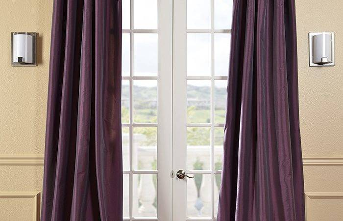 Long Beautiful Silk Drapes Curtains Lined Brand New