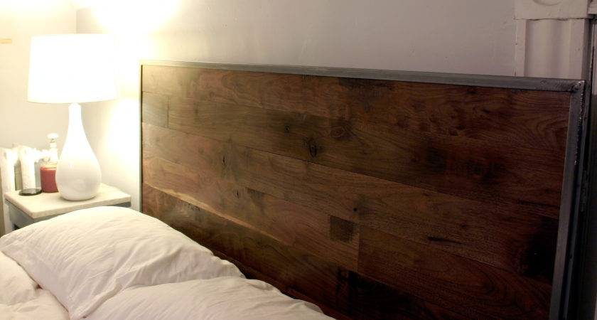 Longleaf Lumber Diy Reclaimed Walnut Headboard