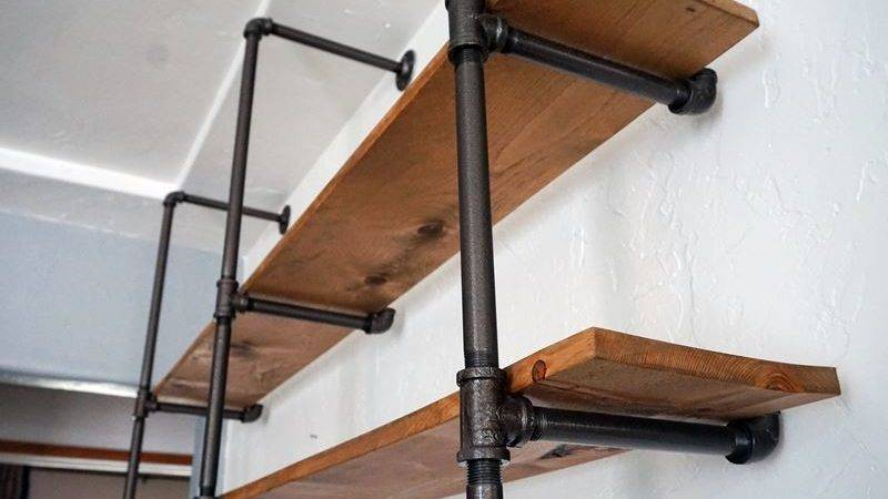 Lovely Imperfection Diy Pipe Shelf