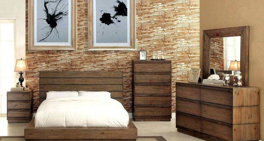Low Profile Bed Plank Panel Headboard Urban