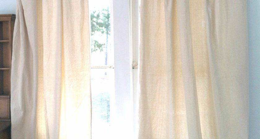 Luxury Painting Canvas Drop Cloth Curtains Curtain