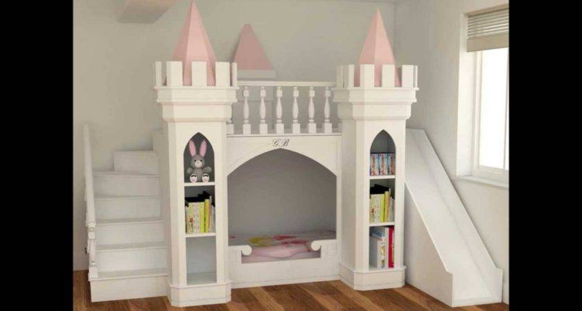 Luxury Princess Castle Bed Bedroom Furniture