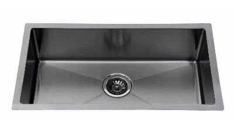Luxury Square Under Mounted Single Bowl Kitchen Sink