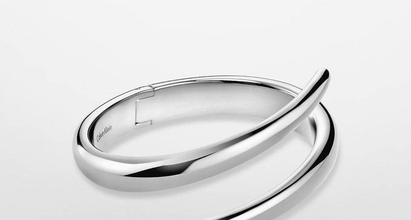 Lyst Calvin Klein Platinum Label Stainless Steel Wrap