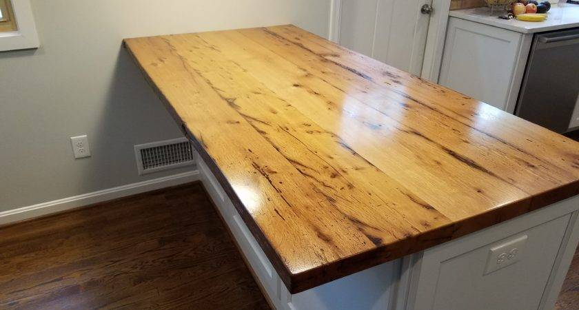 Maintaining Your New Wood Slab Kitchen Countertops