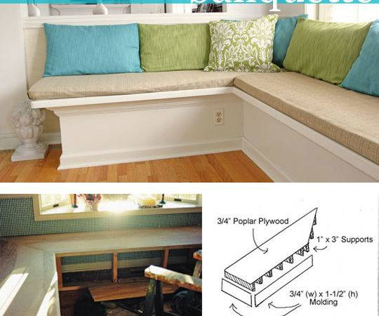 Make Banquette Your Kitchen Own Style