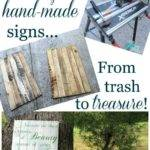 Make Beautiful Hand Painted Sign Pallets