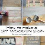 Make Diy Wooden Sign Culture Scribe